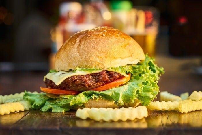 Cardápio para hamburgueria