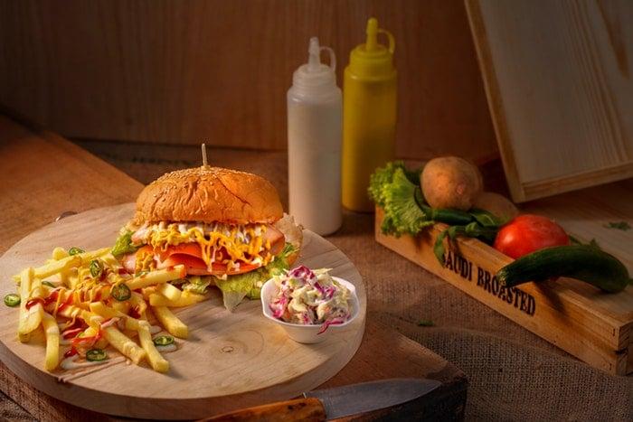 Como montar um hambúrguer