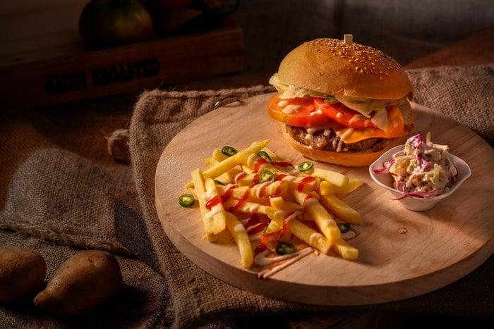 Molho de queijo para hambúrguer