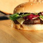 Como armazenar o hambúrguer