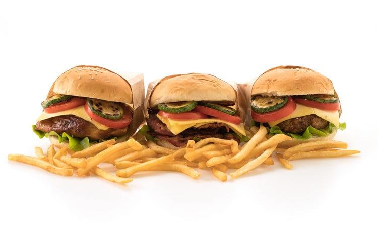quantos hambúrgueres vende por dia